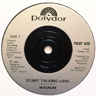 "Magnum - Start Talking Love (7"") (EX/NM)"
